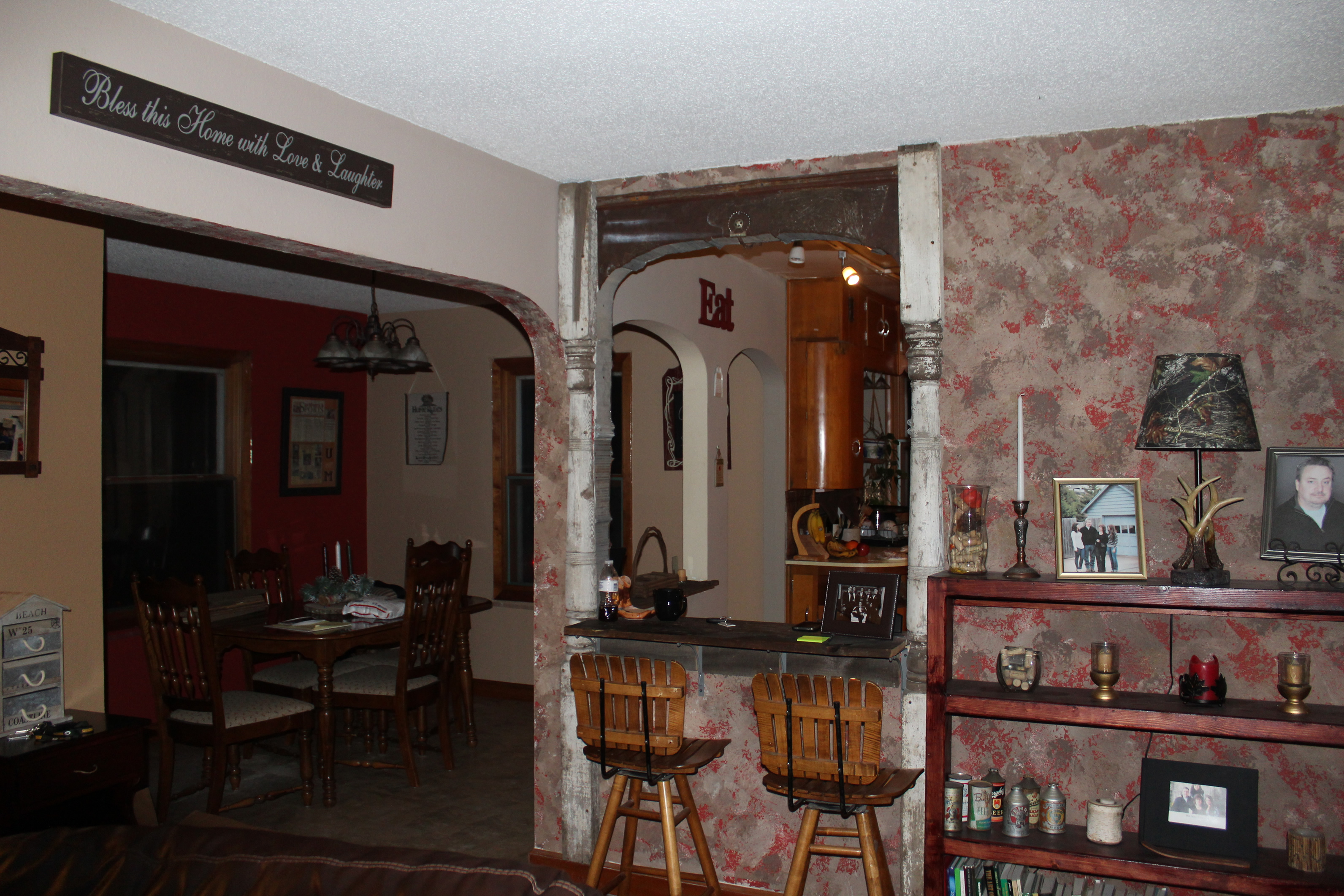 Old house looking 'old' again — Part 3