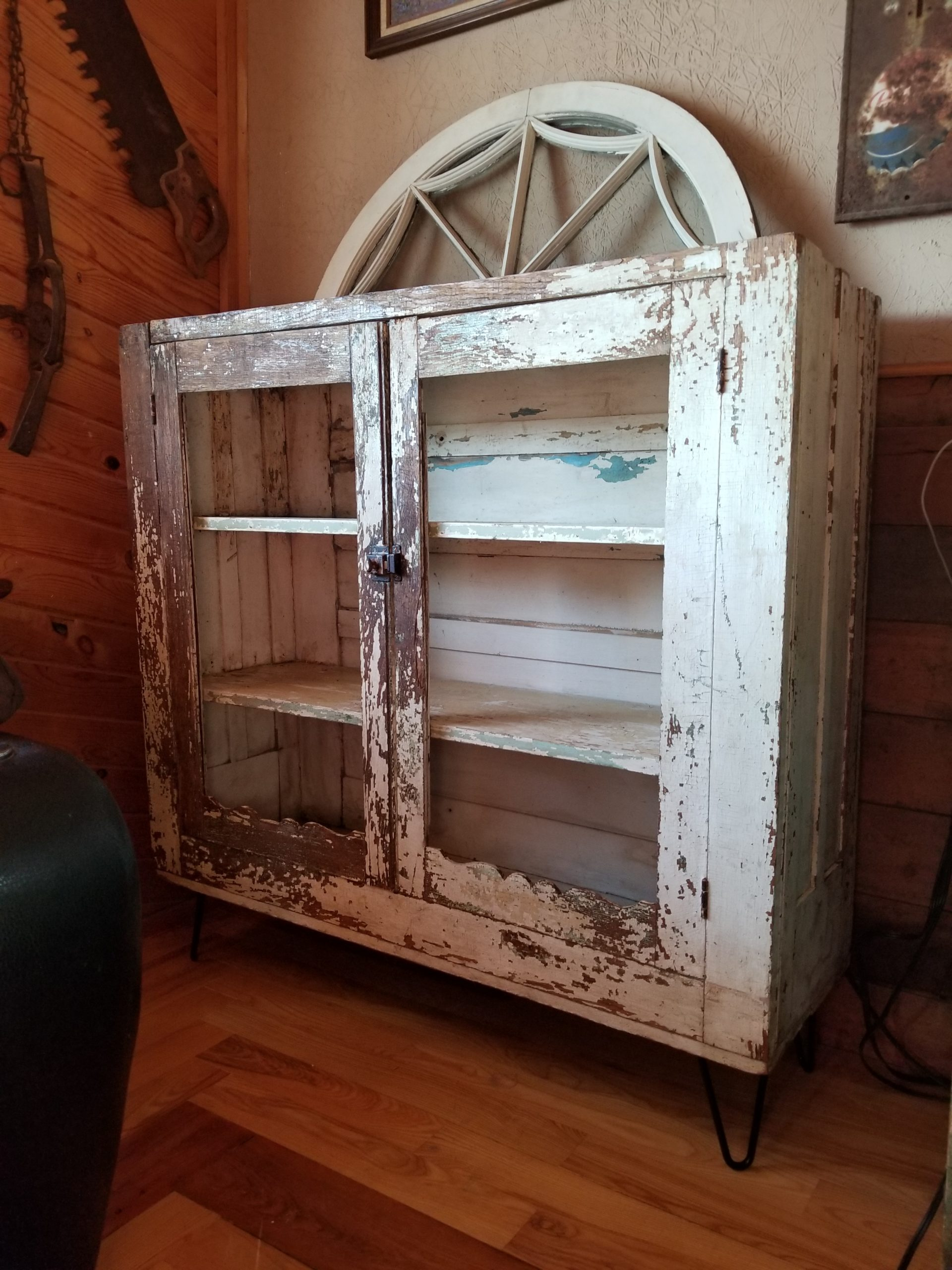 Primitive Cabinet with Original Patina